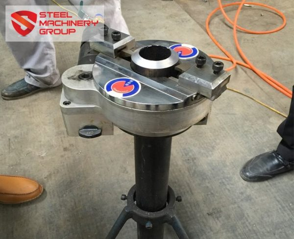 smg self centering pipe cutting and beveling machine 1